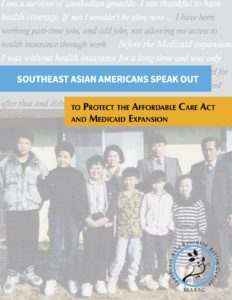 Southeast Asian Americans Speak Out to Protect the Affordable Care Act and Medicaid Expansion