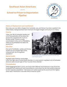 Southeast Asian Americans and the School-to-Prison-to-Deportation Pipeline