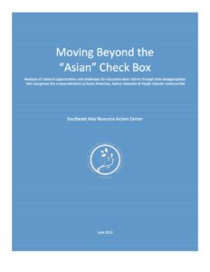 Moving Beyond the Asian Check Box