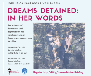 Join Us: Civil Rights Groups to Launch Report on Detention and Deportation Effects on Southeast Asian American Families