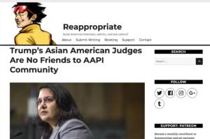 Reappropriate Publishes Joint Op-Ed on Trump Judicial Nominees