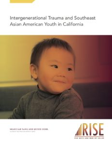 Read about Southeast Asian American intergenerational trauma during  Minority Mental Health Awareness Month