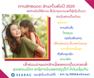 SEARAC Census Factsheets Available in Lao