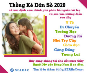 SEARAC Census Factsheets Available in Vietnamese