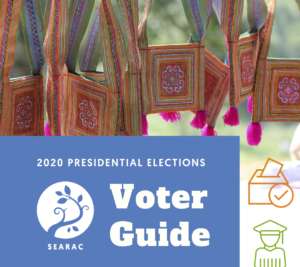SEARAC Launches 2020 Presidential Election Voter Education Guide