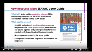 March 2020 Community Call: 2020 Census and Presidential Elections