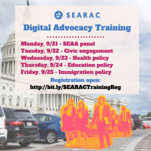 SEARAC Announces First-Ever Digital Advocacy Training