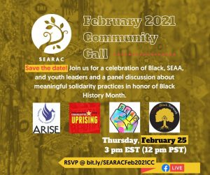 February 2021 Community Call: Meaningful solidarity practices for Black History Month