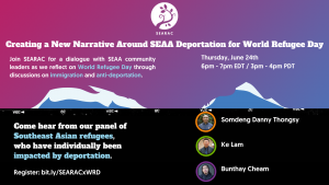 Creating a New Narrative Around SEAA Deportation