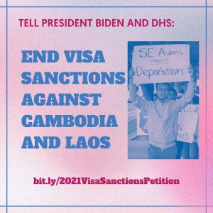ACTION ALERT: Allow Laotian and Hmong families to reunite! Sign our petition to lift visa sanctions on Cambodia and Laos