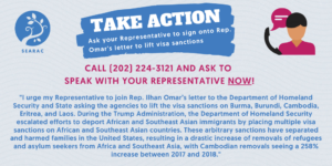 ACTION ALERT: Tell Congress to Join Call to End Visa Sanctions Against Burma, Cambodia, and Laos